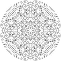 free mandala coloring pages for adults # 8