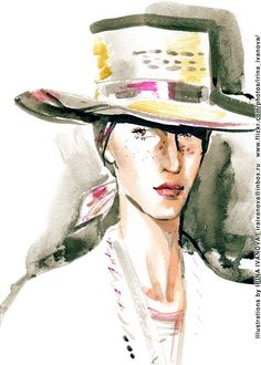 https://flic.kr/p/VyY32T | img384 | Undercover SS2017 ready-to-wear collection.   #fashionillustration #SS2017 #readytowear #runway #Undercover #JunTakahashi #illustration #fashion #model #portrait #drawing #female #watercolor #ink #fashionshow #wear #clothes #fashionillustrator #иллюстрация #одежда #портрет #irinakamantseva #мода #одежда #artwork #artinsta #instaart #fashioninsta