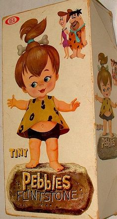 Pebbles Flintstone Doll...this was another doll that I loved as a little girl.