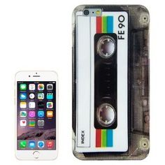 iPhone 6 Plus (5.5 inch) Cassette / Tape TPU Cover, hoesje, case
