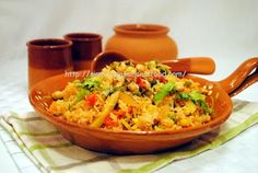 simply.food: Tunisian style Spicy Rice.