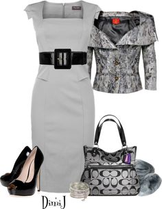 """""""Dress Collection - Office Look"""" by dimij on Polyvore"""
