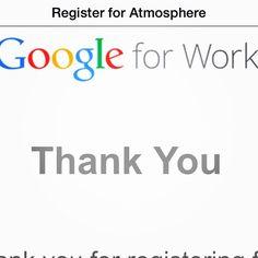 prepariamoci per il #futuro ...#atmosphere #googleforwork