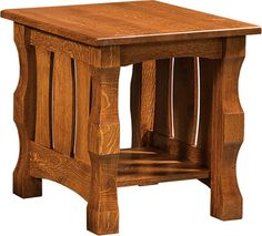 Up to 33% Off Balboa End Table | Handcrafted Solid Wood Amish Furniture