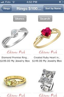 Jewelry App for the iPad updated today with hundreds of beautiful new products!