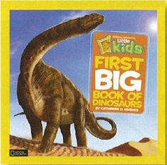 First Big Book of Dinosaurs - National Geographic Little Kids (Hardback)