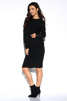 Peplum Dress, Dresses For Work, Costume, Casual, Sweaters, Products, Fashion, Moda, Fashion Styles