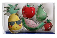 A set of fun fruit-shaped cookie cutters. | 31 Gifts You'd Actually Want To Find In Your Christmas Stocking