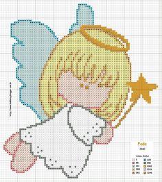 Flying angel pattern
