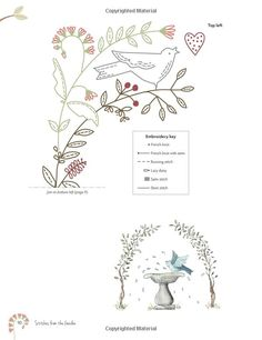 Stitches from the Garden: Hand Embroidery Inspired by Nature: Kathy Schmitz…