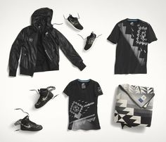 Nike and Pendleton Woolen Mills collaborate on a graphic collection Nike  N7 38fe95362d
