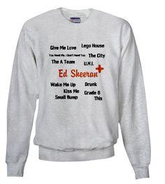 ed sheeran sweatshirt - Google Search
