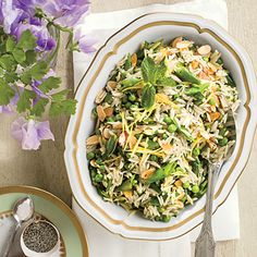 Spring Pea Orzo Recipe - Easter Side Dishes - Southern Living