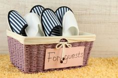 slippers for guests