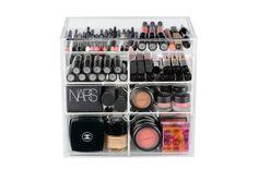 4 Drawer Acrylic Clear Makeup Organizer by OriginalBeautyBox