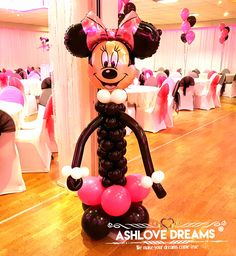 Balloon Decorations, Mickey Mouse, Balloons, Dreams, Engagement, Disney Characters, Birthday, Party, Globes