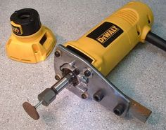 Toolpost Grinder - can be modified from other tools in the shop such as a DeWalt Zip Tool used as a heavy duty Dremel-Compatible grinder.