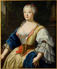 Marie-Barbara de Bragance, infante de Portugal, reine d'Espagne, d'après Amigoni