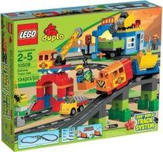 LEGO Duplo - Ville Deluxe vasútkészlet (10508)