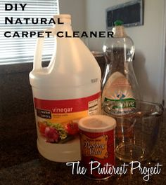 The Pinterest Project: DIY Natural Carpet Cleaner
