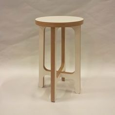 Birch Plywood Stool Or Side Table by SOAP designs, the perfect gift for Explore more unique gifts in our curated marketplace. Trendy Furniture, Colorful Furniture, Plywood Furniture, Painted Furniture, Furniture Design, Plywood Floors, Kid Furniture, Vintage Furniture, Most Comfortable Office Chair