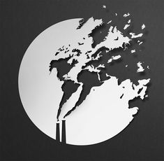 Paper Illustrations – The powerful and poetic creations of Eiko Ojala Paper Illustration, Digital Illustration, Eiko Ojala, Colossal Art, Yayoi Kusama, Behance, Paper Cutting, Cut Paper, Climate Change