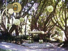 Jardines para una boda elegante en el estado de Morelos - Foto La Cañadita