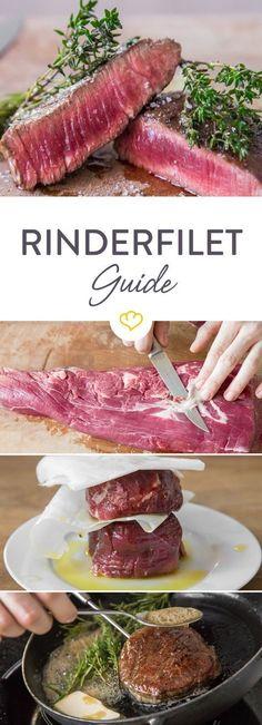 Du möchtest ein Rinderfilet richtig garen oder wissen, warum dein Filet beim Braten zäh wird? In diesem Rinderfilet Guide erfährst du alle Tipps und Tricks.