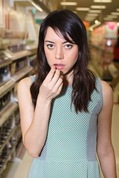 Aubrey Plaza- Who knew apathy could be so hot?