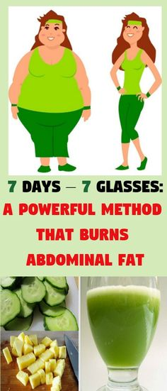 7 Days – 7 Glasses: A Powerful Method That Burns Abdominal Fat