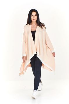 Cardigan dama asimetric Bell Sleeves, Bell Sleeve Top, Duster Coat, Jackets, Tops, Women, Fashion, Down Jackets, Moda