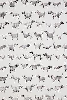 Dog-a-Day Wallpaper - anthropologie.com
