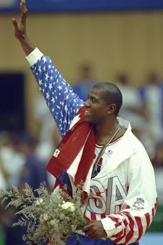 Olympic Heroes Then and Now: Magic Johnson
