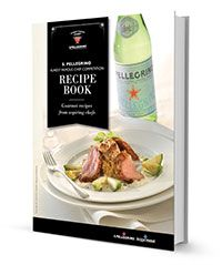 Free recipe eBook from the S.Pellegrino Almost Famous Chef Competition. Gourmet recipes created by aspiring chefs. #AFC13