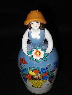 Noritake Deco Lady Talcum Powder Shaker | eBay
