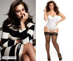 Alcune tra le più belle modelle Curvy e Plus Size del mondo. Ashley Graham.