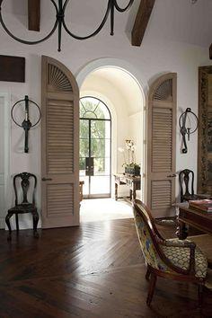 design indulgence: NEW DESIGN BOOKS-doors into hallway