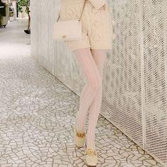 [leggycozy] Kawaii Elegant Sheer Lace Pantyhose Thin Stockings Summer Colors, Autumn Summer, Stockings, Kawaii, Elegant, Lace, Summer Colours, Classy