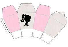 Barbie Silhueta - Kit Completo com molduras para convites, rótulos para guloseimas, lembrancinhas e imagens!