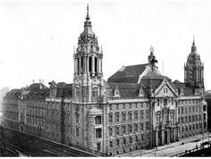 1905 Landgericht in der Neuen Friedrichstrasse (heute Littenstrasse)