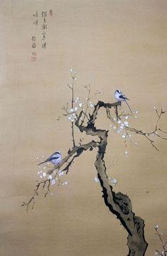 Japanese art Tinta china M s Japanese Artwork, Japanese Painting, Japanese Prints, Chinese Painting, Chinese Artwork, Ink Painting, Watercolor Art, Art Chinois, Art Asiatique