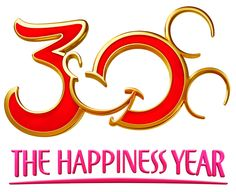 Tokyo Disney Resort to Mark 30 Years with 'The Happiness Year' Celebration in 2013... but I really just like this logo!