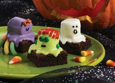 Fun Brownies for Halloween