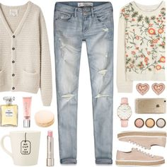 No matter how long the winter, spring is sure to follow... by lgb321 on Polyvore featuring La Garçonne Moderne, Alice + Olivia, Abercrombie & Fitch, Miu Miu, CLUSE, Michael Kors, Rifle Paper Co, By Terry, Victoria's Secret and Chanel