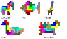 "Képtalálat a következőre: ""pentominoes puzzle"" Kindergarten Math, Teaching Math, Learning Shapes, Arts Integration, Math Art, Work Activities, Preschool Worksheets, Pictures To Draw, Paper Piecing"