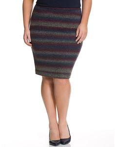 7155fdaa2e Space dye sweater skirt by Lane Bryant