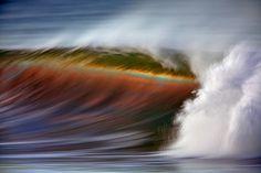 David Orias long exposures of waves