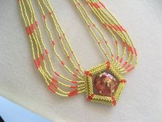The Eye of Venice Necklace by njdesigns1 on Etsy, $110.00