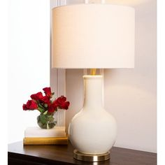 Shop for Abbyson Gourd Beige Ceramic Table Lamp. Get free delivery On EVERYTHING* Overstock - Your Online Lamps & Lamp Shades Store! Get in rewards with Club O! Table Lamp Base, Table Lamp Sets, Lamp Bases, Living Room End Tables, Dining Room, Lamp Shade Store, Contemporary Table Lamps, Ceramic Table Lamps, Diffused Light