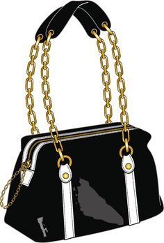 glossy bag I Love Fashion, Fashion Bags, Drawing Bag, Jewelry Design Drawing, Bag Illustration, Flat Sketches, Technical Drawing, Big Bags, Fashion Illustrations
